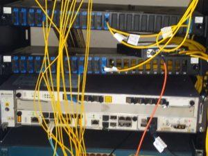 Dstv over fibre installation